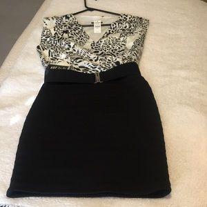 Express leopard print dress.